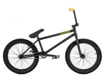 """Fly Bikes """"Proton"""" 2018 BMX Rad - matt schwarz"""