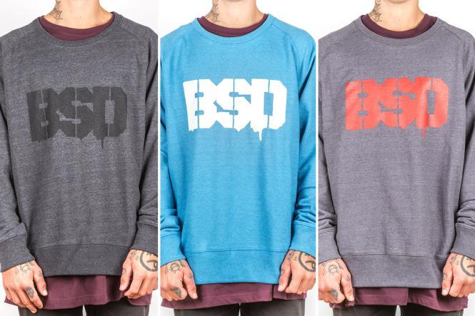 """BSD """"Drip Logo Crew"""" Sweatshirt"""