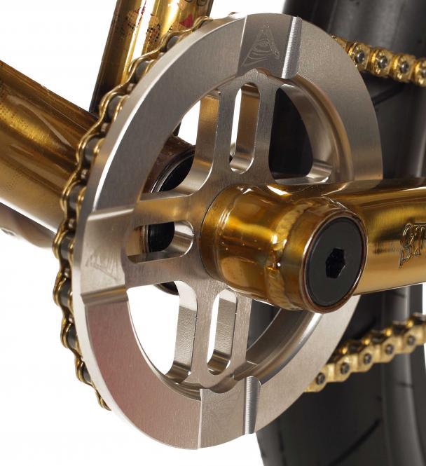 "Stereo Bikes ""Guardian"" Kettenblatt - titanium"
