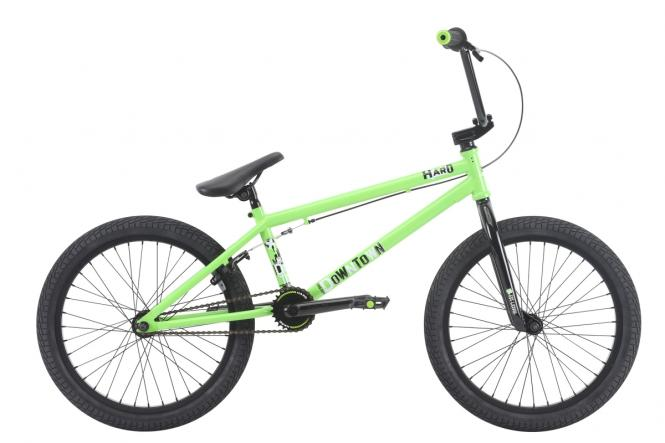 "Haro Bikes ""Downtown"" 2018 BMX Rad - lime grün"