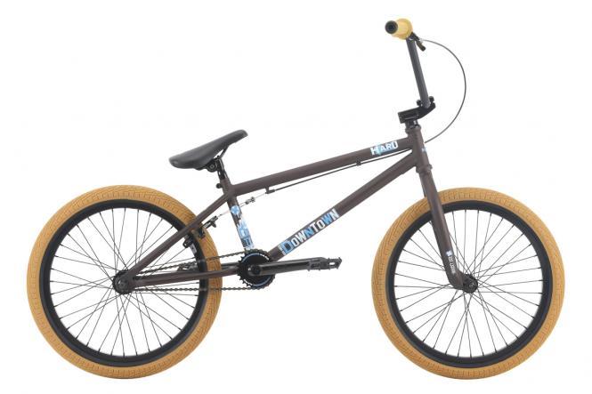 """Haro Bikes """"Downtown"""" 2018 BMX Rad - rootbeer braun"""