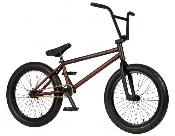 "Stereo Bikes ""Plug In"" 2019 BMX Bike - Barrique Matt Trans Dark Burgundy"