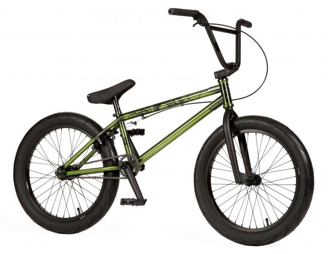 "Stereo Bikes ""Speaker Plus"" 2019 BMX Bike - Swamp Gloss Trans Slimy"