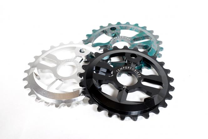 "Tempered Bikes ""Anchor Down"" Sprocket"