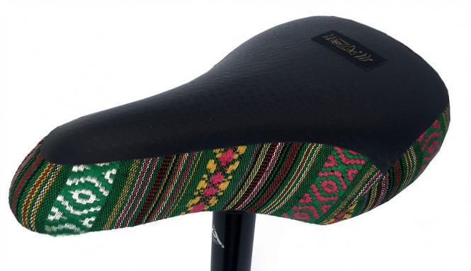 """Stereo Bikes """"Santa Cruz"""" Sattel Kombo - grün"""