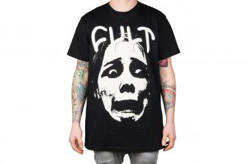 """Cult """"Face Logo"""" T-Shirt"""