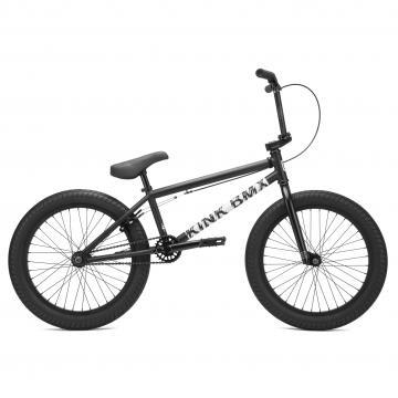 """Kink """"Curb"""" 2021 BMX Rad - Matte Dusk Black"""