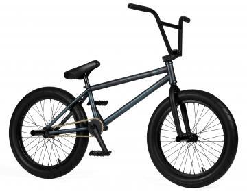 "Strobmx ""Plug In"" 2021 BMX Rad - Matt Aqua Trans"