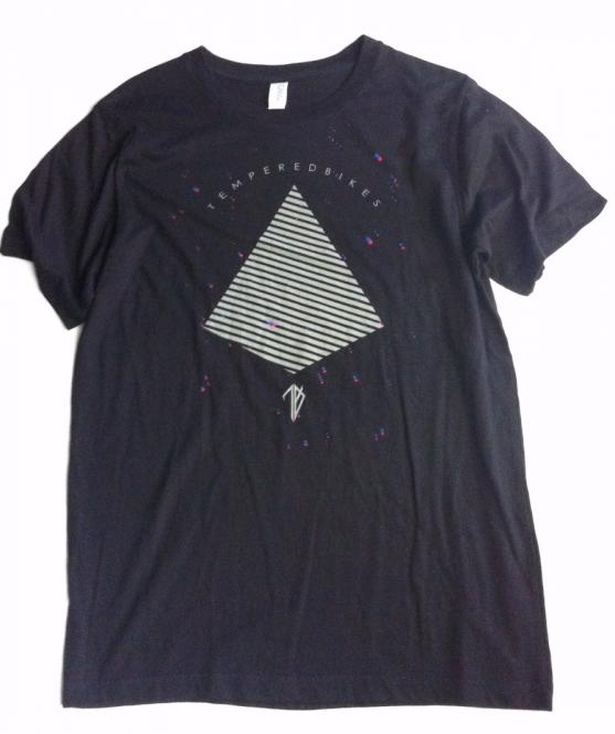 "Tempered Bikes ""Pyramid"" T-Shirt"