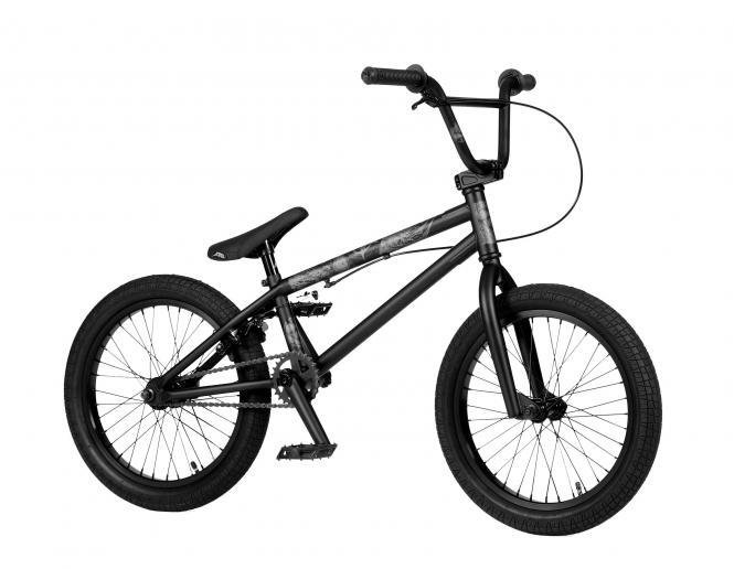 "Stereo Bikes ""Half Stack 18 Zoll"" 2020 BMX Rad - Sooty Matt Black"