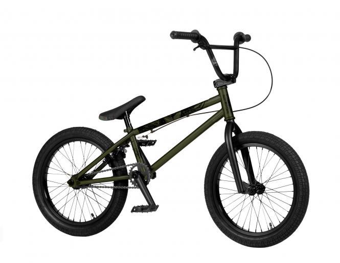 "Strobmx ""Half Stack 18 Zoll"" 2021 BMX Rad - Matt Army Green"