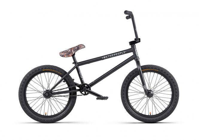 "Wethepeople ""Crysis"" 2020 BMX Rad - matt black"